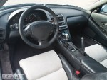 The interior of the turbocharged Acura NSX