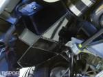 Intercooler set-up on the turbocharged Acura NSX
