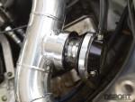 Wastegate on the turbocharged Acura NSX