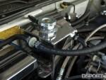 Oil return system on the turbocharged Acura NSX