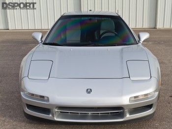 Front of the turbocharged Acura NSX