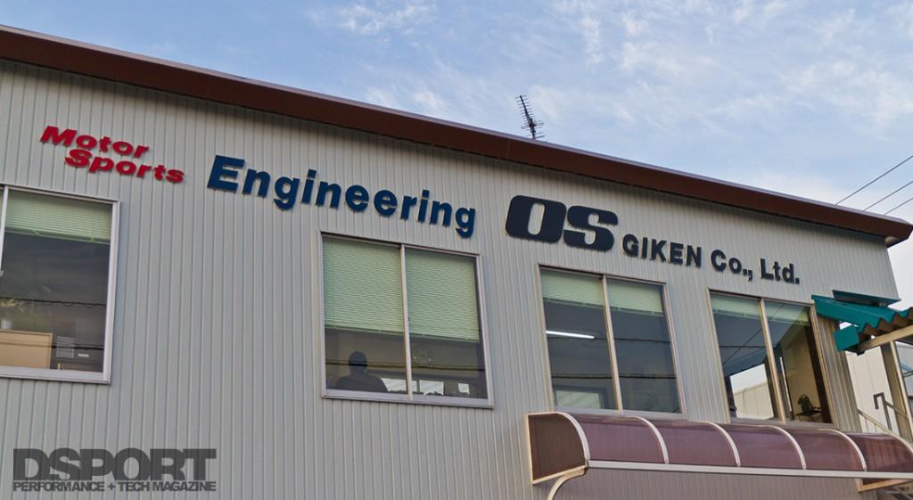 Exterior of OS Giken