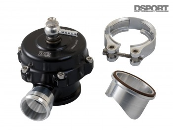 TiAl blow off valve for the EVO X