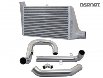 Cosworth intercooler and pipe kit for the EVO X