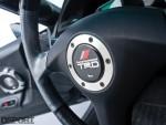 TRD steering wheel in this Toyota Supra