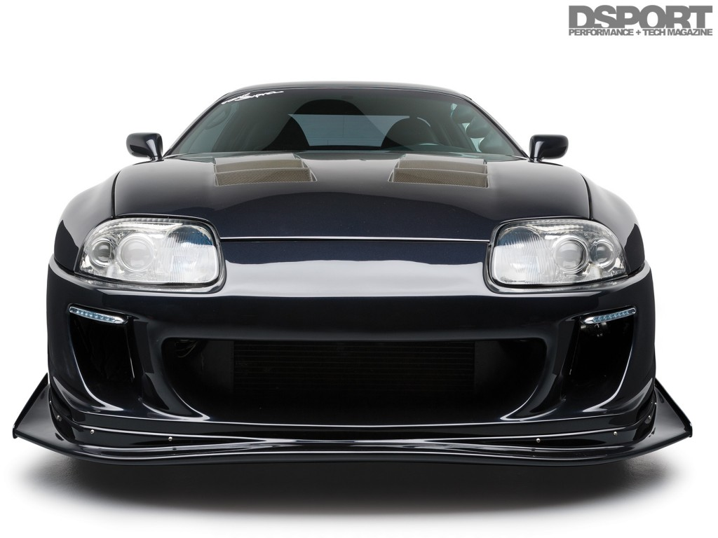 Front of the TRD Toyota Supra