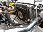 Radiator mounted in the Eclipse