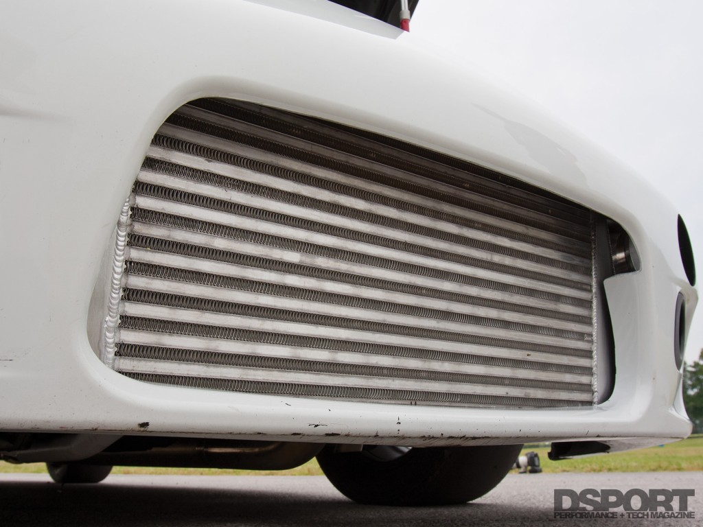 Intercooler on the Eclipse