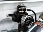 Fuel pressure regulator in the Eclipse