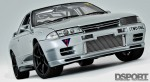 Front of the RH9 R32 GT-R