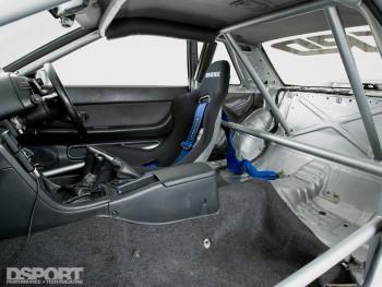 Interior of the RH9 R32 GT-R