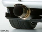 Exhaust on the RH9 R32 GT-R