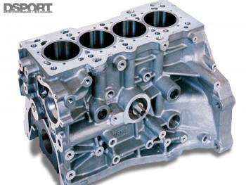 Example of a Honda B series engine