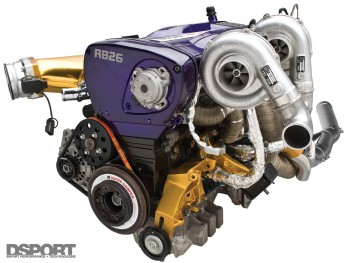 Example of a the Nissan RB26 engine