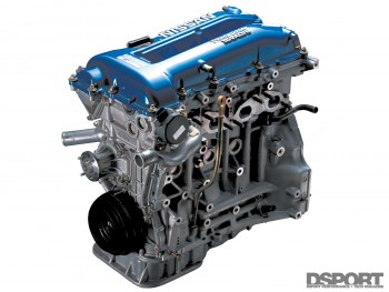 Example of a the Nissan SR20 engine