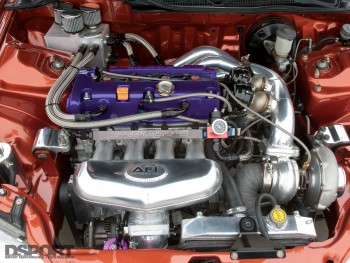 Example of a the Honda K series engine
