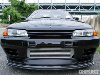 Intercooler for the 535 whp R32 Skyline