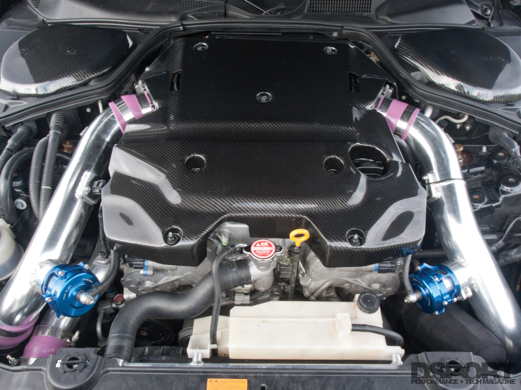 617 WHP 350Z Gets Big-Blocked and Boosted