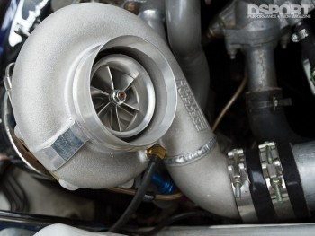 Turbo in this 900 WHP Toyota Supra