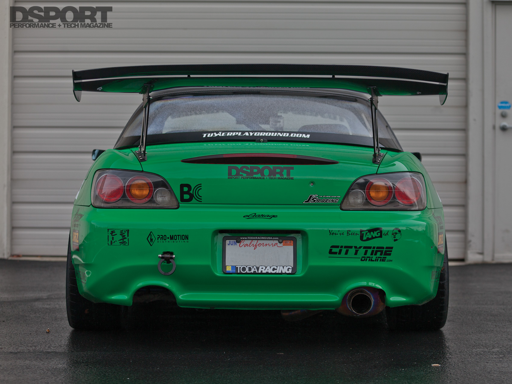 Tangs Green S2k Rear Bumper