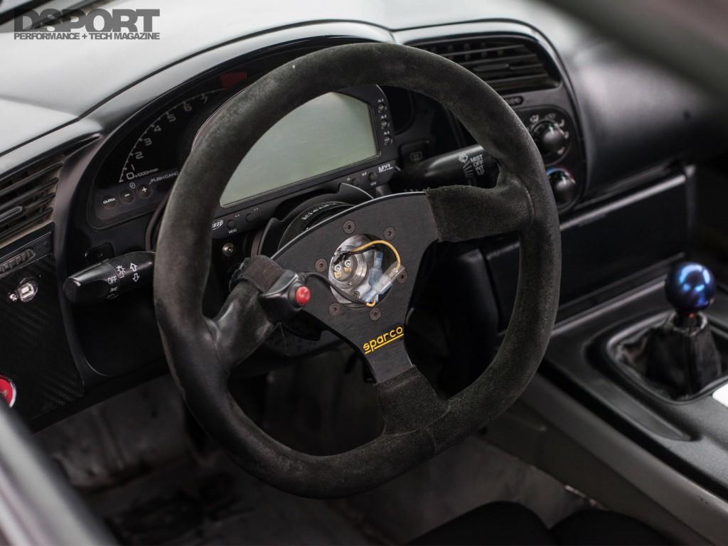 Tangs Green S2k Steering Wheel
