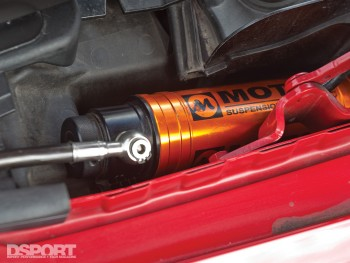 Suspension for Ricky Kwan's BMW M3