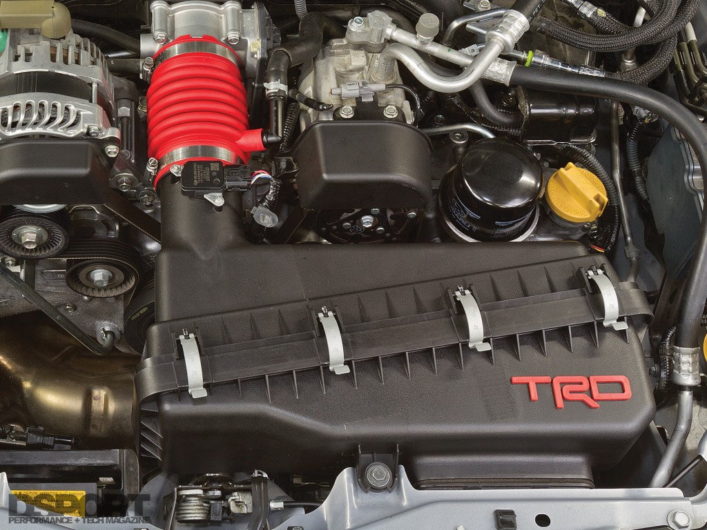 TRD intake installed in the FR-S