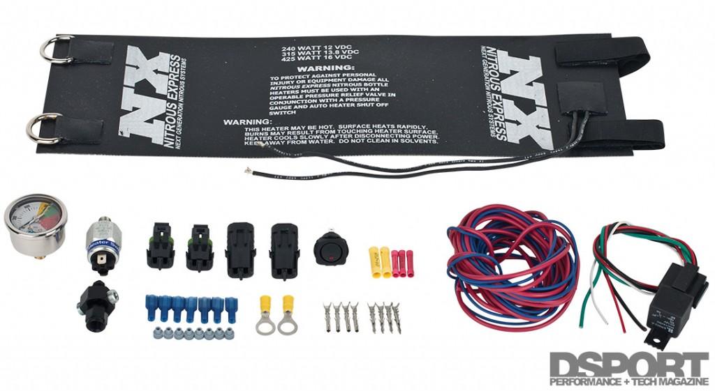 Nitrous Bottle Warmer kit