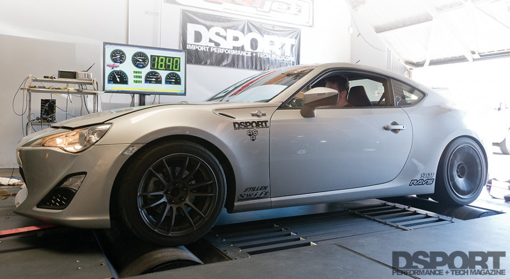 Testing the results of Nitrous on the dyno