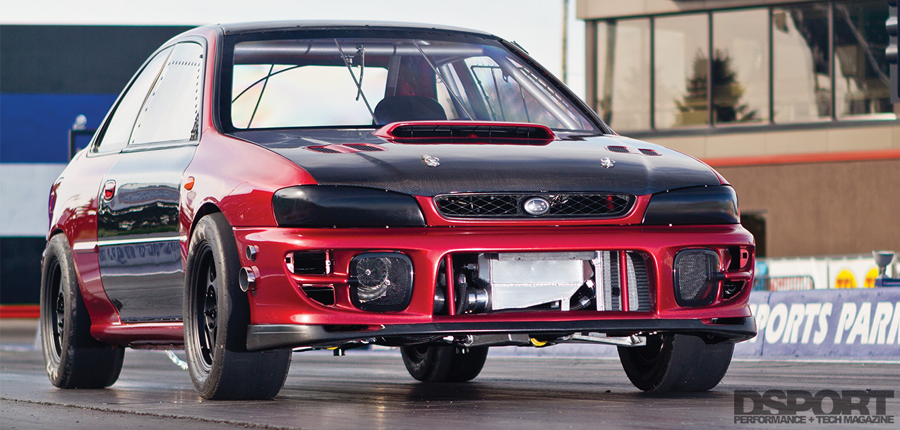 715 WHP STM Tuned Subaru Impreza RS Drag Car Breaks into the 8s