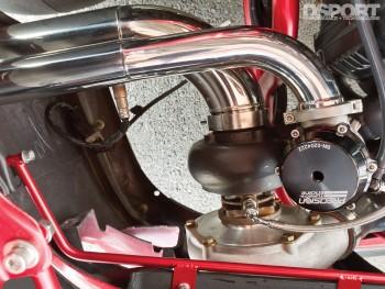 Turbo for the Subaru Impreza RS