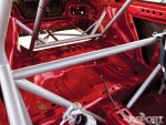Cage inside the Subaru Impreza RS