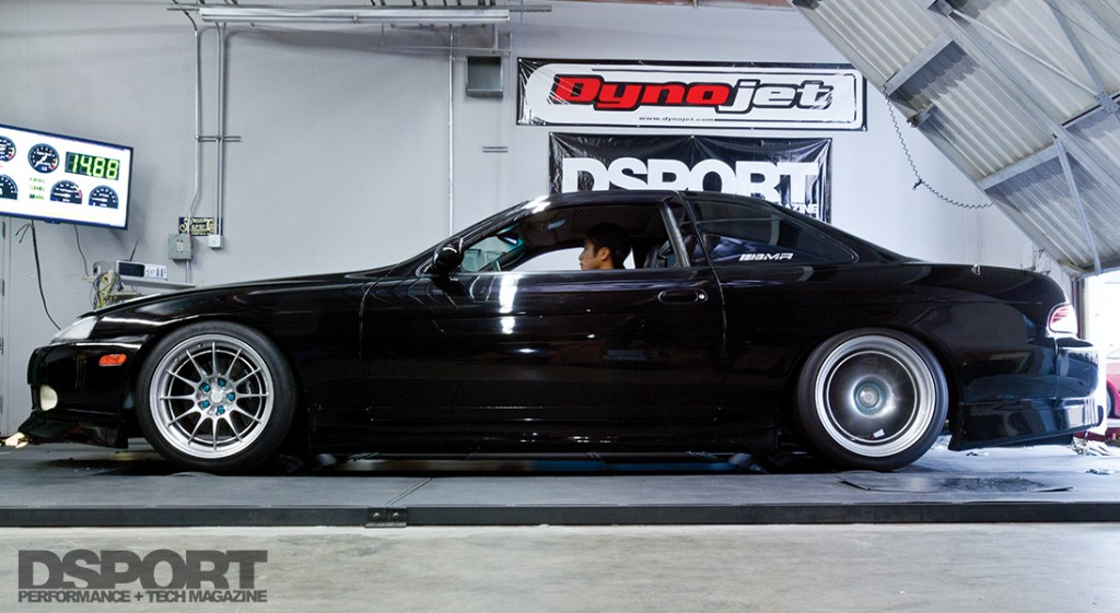 SC300 on the DSPORT Dyno