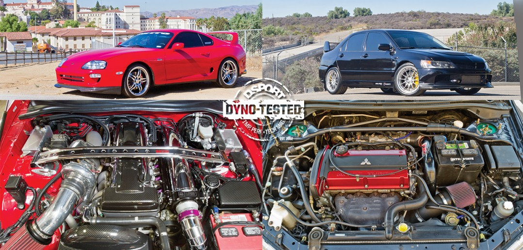Dyno Guide Test Cars