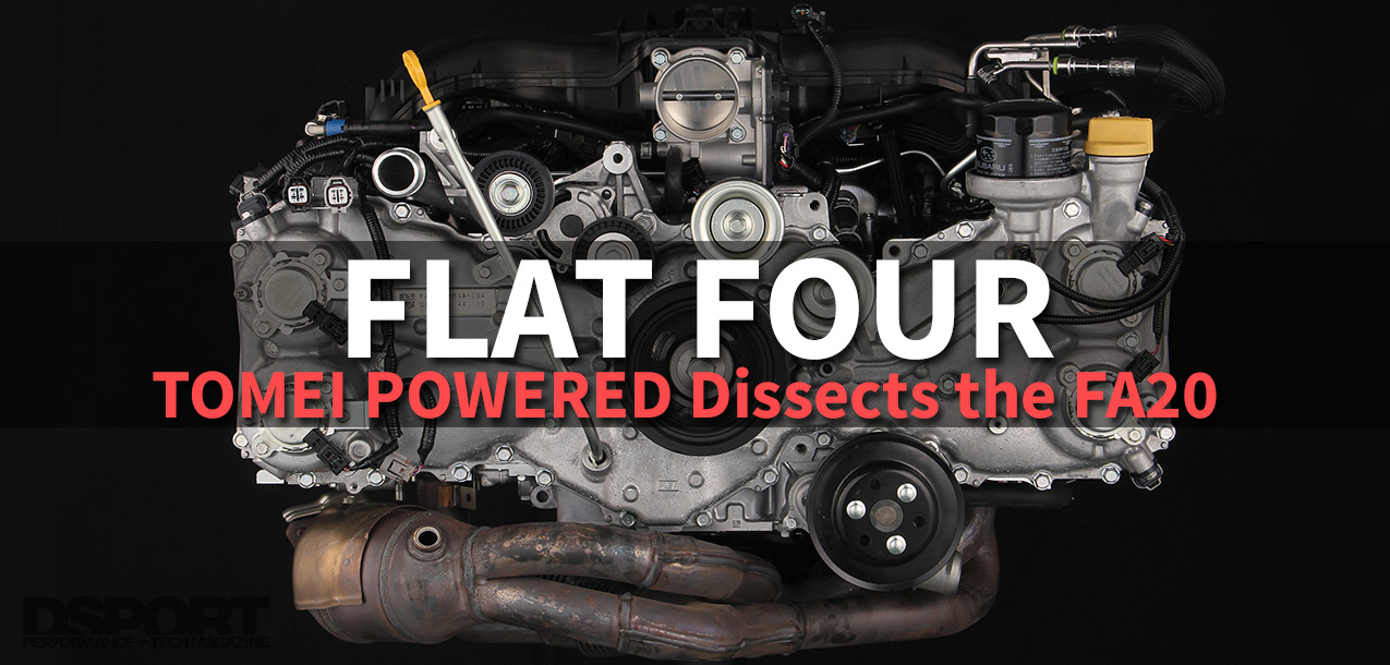 TOMEI POWERED Dissects the FA20 | Flat Four