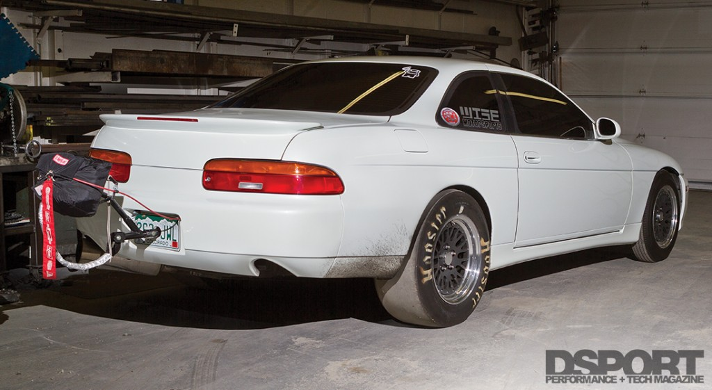 Rear of the 2JZ 9-second SC300