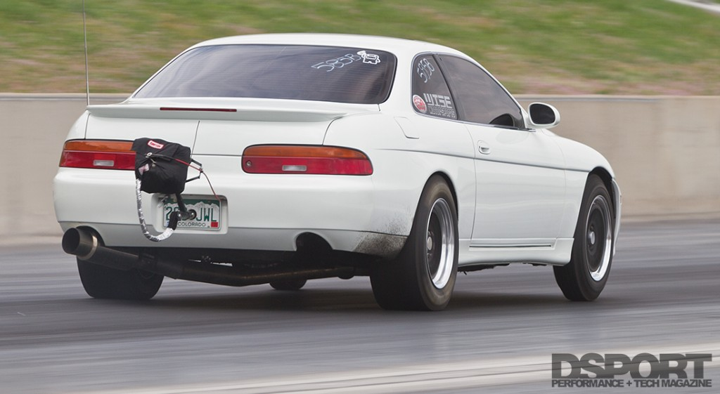 2JZ 9-second SC300 racing by