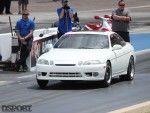 2JZ 9-second SC300 Starting line
