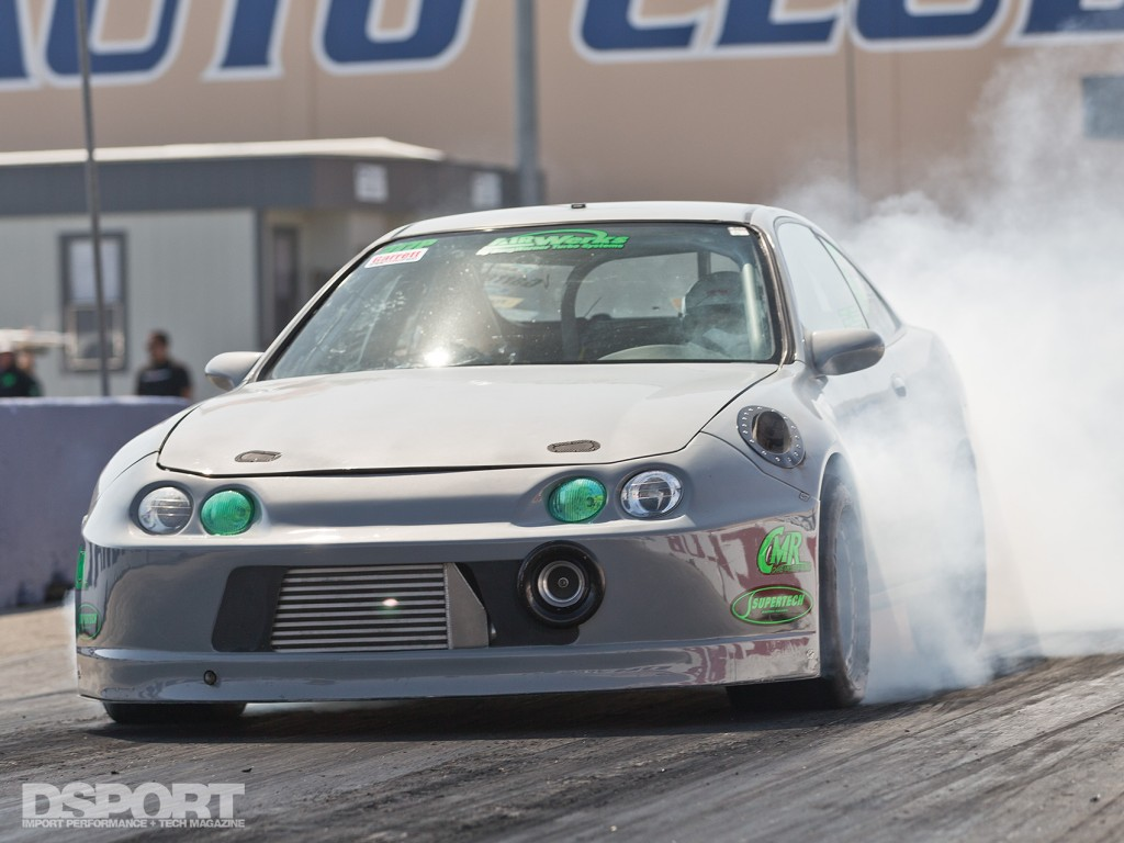 Boosted Integra on track