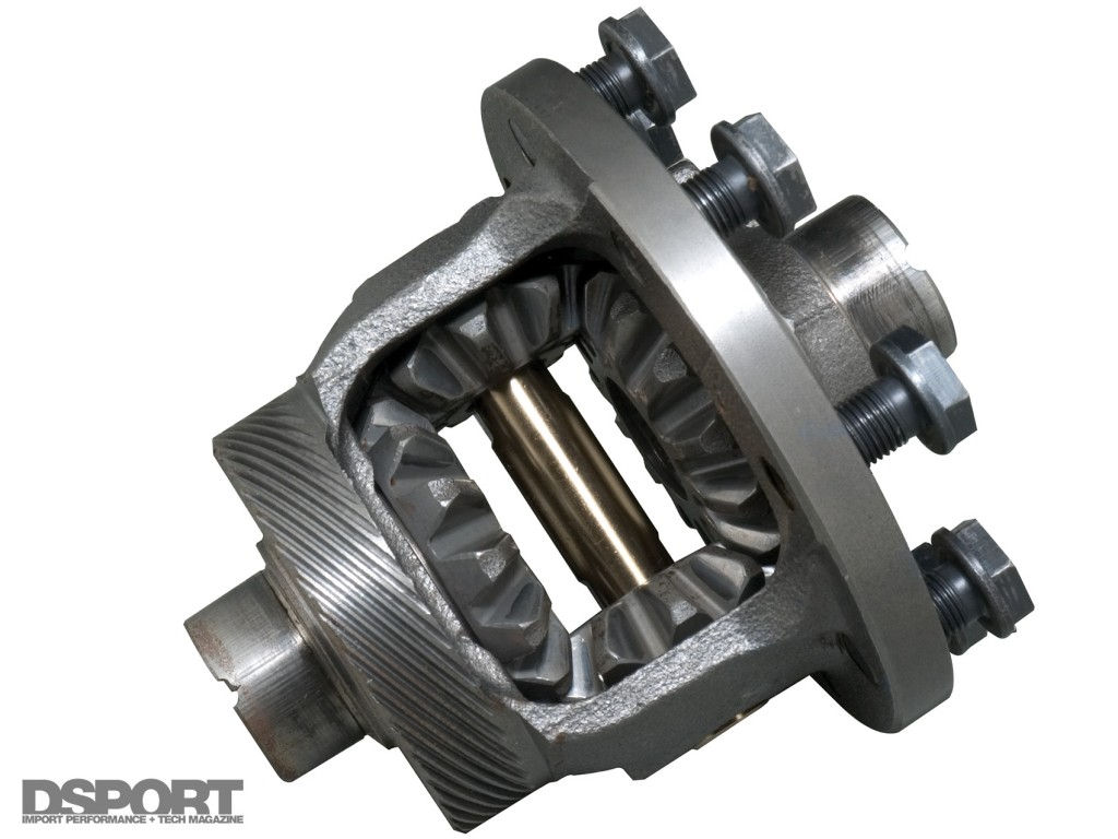 Cutaway of an open Differential