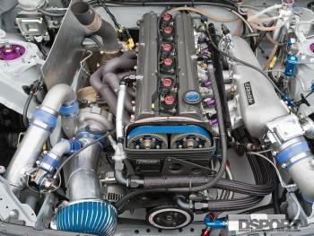 GReddy turbocharged engine