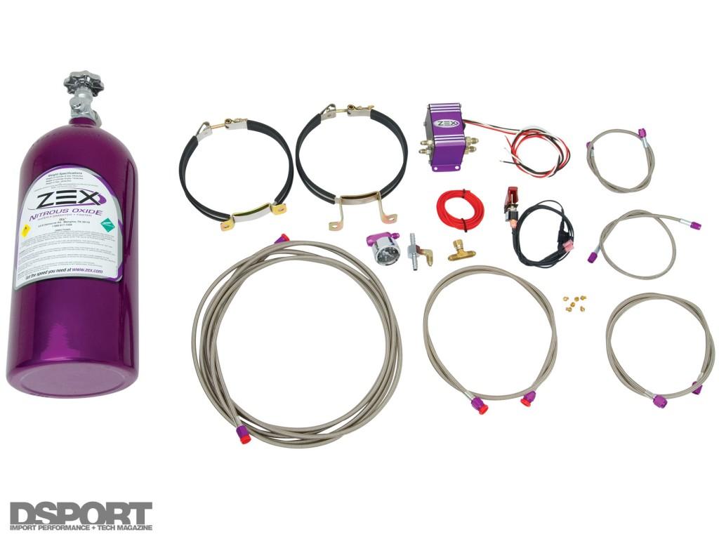 The ZEX Nitrous Oxide kit