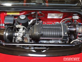 Example of a supercharger