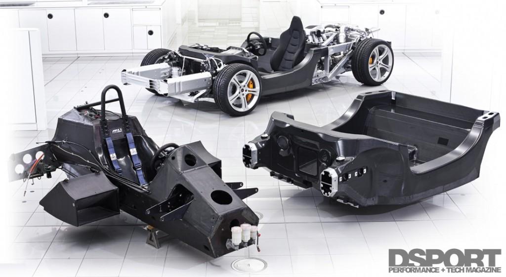Chassis of McLaren 12C