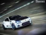 Leong FR-S driving thru tunnel