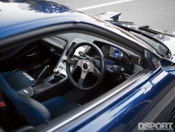 Interior of the NSX