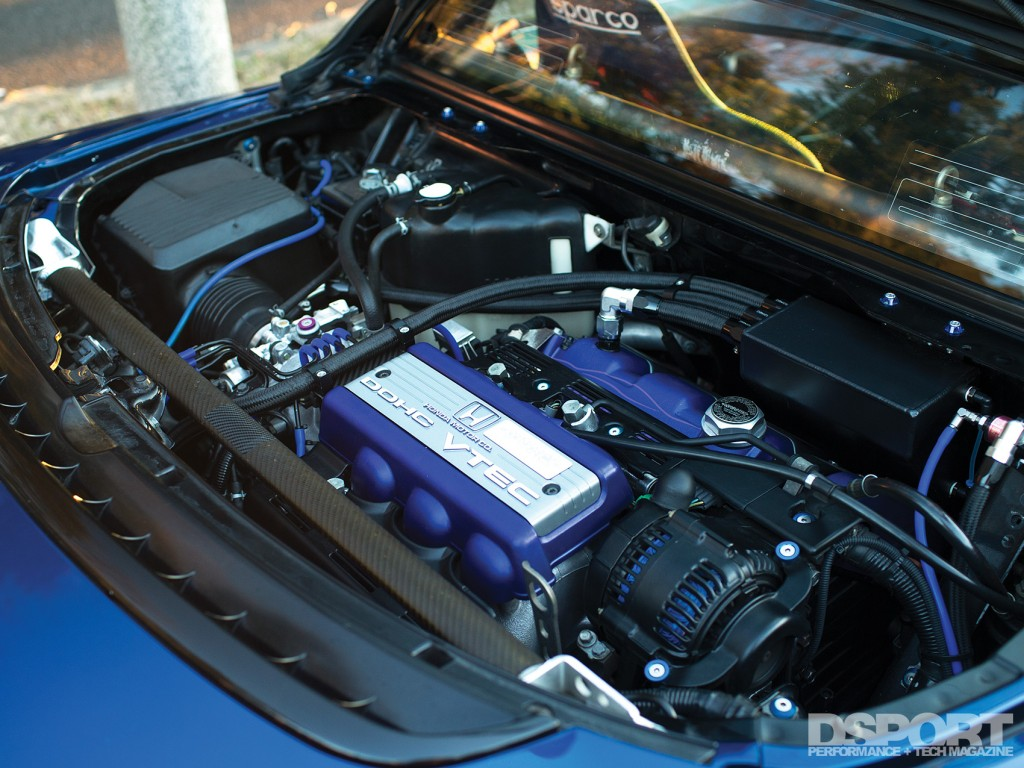 Engine in the NSX