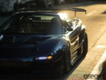 Front of NSX in the sun