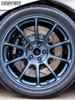 Wheel fitment on the Leong FR-S