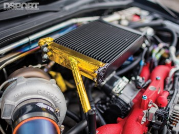 Turbo on Tomczek's Subaru STI